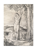 The Shepherd, 1828 Giclee Print by George Richmond