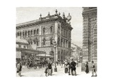 The Post Office, George Street, Sydney, C.1880, from 'Australian Pictures' by Howard Willoughby,… Giclee Print