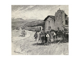 Mission Santa Ynez or Ines, Solvang, California, from 'The Century Illustrated Monthly Magazine',… Giclee Print by Henry Sandham