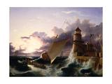 Shipwreck Giclee Print by Francis Danby