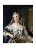 Madame Henriette as a Vestal Virgin, 1751 Giclee Print by Jean-Marc Nattier