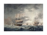 A Storm Coming On, Engraved by Francis Jukes (1747-1812) Published in 1795 Giclee Print by Robert Dodd