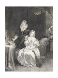Juliet and Her Nurse, from 'Gallery of Historical Portraits', Published C.1880 Giclee Print