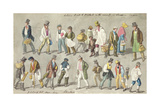 Between 5 O'Clock and 6 O'Clock in the Morning, 1840 Giclee Print by George The Elder Scharf