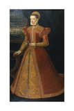 Portrait of an Unknown Lady, C.1575 Giclee Print by Alonso Sanchez Coello