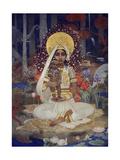 Devaki, Mother of Krishna Impression giclée par Marianne Stokes