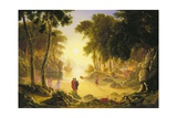 The Enchanted Island Giclee Print by Francis Danby