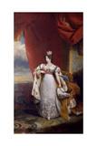 Portrait of Tsarina Alexandra Feodorovna of Russia, 1828-31 Giclee Print by George Dawe
