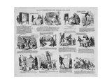 Illustrations of Phrenology, C.1834 Giclee Print by David Claypoole Johnston