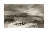 The Look Out from Cape George Russell, Engraved by R. Hinshelwood, from 'Arctic Explorations in… Giclee Print by James Hamilton