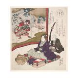 Rokuban Hidara-Gempei, 1825 Giclee Print by Utagawa Kunisada