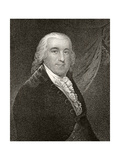 Edward Rutledge, Engraved by James Barton Longacre (1794-1869) Giclee Print by James Earle