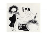 Tail-Piece from 'salome' by Oscar Wilde (1854-1900) Giclee Print by Aubrey Beardsley