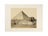 The Great Pyramid and the Sphinx, 1858 Giclee Print by Francis Frith