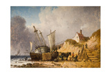 Coast Scene, 1836 Giclee Print by John Ward