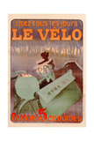 Advertisement for Le Velo, Printed by Affiches Camis, Paris, C.1899 Giclee Print by Ferdinand Misti-mifliez