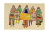 Apache Indians, C.1894-99 Giclee Print by Frederick Gokliz