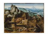 The Temptation of St. Anthony Giclee Print by Joachim Patinir