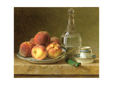 Still Life with Peaches Giclee Print by Gerard Van Spaendonck