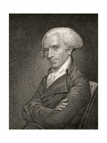 Elbridge Gerry, Engraved by James Barton Longacre (1794-1869) Giclée-Druck von John Vanderlyn