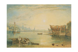 Teignmouth, Devonshire, C.1813 Giclee Print by J. M. W. Turner