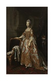 Portrait of Queen Charlotte of Mecklenburg-Strelitz Giclee Print by Nathaniel Dance-Holland