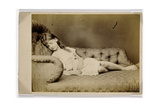 Xie Sleeping, 1874 Giclee Print by Lewis Carroll