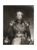 Sir Archibald Campbell 1st Baronet, Engraved by J. Cochran, from 'The National Portrait Gallery,… Giclee Print by J. Wood