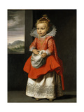 Portrait of the Artist's Daughter, Magdalena De Vos, C.1623-24 Giclée-Druck von Cornelis de Vos