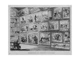 Exhibition of Cabinet Pictures, C.1831 Giclee Print by David Claypoole Johnston