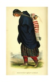 Chippeway Squaw and Child, 1848 Giclee Print by Thomas Loraine Mckenney