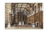 The Great Hall at Audley End Giclee Print by Joseph Nash