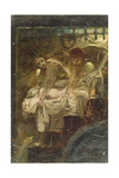 Study for Burying the Royal Children, C.1790 Giclee Print by James Northcote