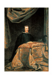 Philip IV at Prayer Giclee Print by Diego Rodriguez de Silva Velazquez