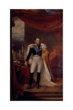 Portrait of Tsar Nicholas I of Russia, 1826 Giclee Print by George Dawe