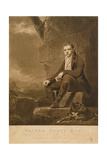 Sir Walter Scott, Engraved by Charles Turner, 1810 Giclee Print by Sir Henry Raeburn
