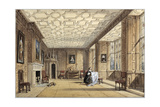The Drawing Room at Broughton Castle Giclee Print by Joseph Nash