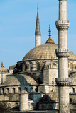 Exterior View of the Sultan Ahmet Camii (Blue Mosque) Built 1609-16 Photographic Print by Mehmet Aga
