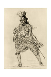 David Garrick in the Role of Don Juan Giclee Print by Philip James De Loutherbourg