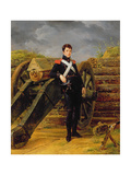 Portrait of an Officer in the Garde Nationale Giclee Print by Horace Vernet