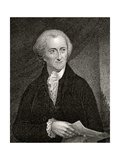 George Read, Engraved by James Barton Longacre (1794-1869) Giclee Print by Robert Edge Pine
