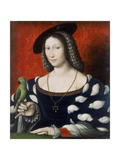 Princess Marguerite of Angouleme, C.1530 Giclee Print by Jean Clouet
