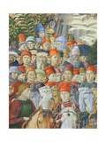 The Procession of the Magi, Detail of the Cavaliers, 1459-62 Giclee Print by Benozzo di Lese di Sandro Gozzoli