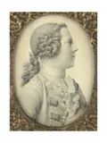 Portrait of Charles Edward Stuart, Bonnie Prince Charlie Giclee Print by Giles Hussey