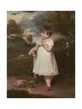 Portrait of Emma Laura Whitbread, C.1800 Giclee Print by John Hoppner