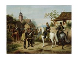 The Capture of Gebhard Leberecht Von Bluecher, 1871 Giclee Print by A. Petzold