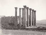 Temple of Artemis from the South-East, Jerash, 1867 Photographic Print by Corporal Henry Phillips