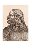 Albrecht Duerer, Illustration from '75 Portraits of Celebrated Painters from Authentic… Giclee Print by James Girtin