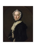 Portrait of Mrs Morris, Widow of Colonel Morris of Purcefield Park, 1750 Giclee Print by Allan Ramsay