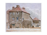 View of an Old House in High Street, Lambeth Giclee Print by J. Findley